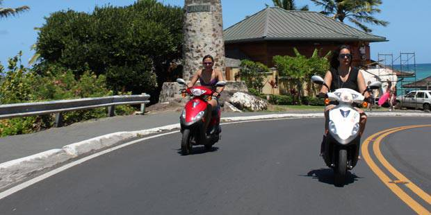 Hawaii Moped Rental Discount Tickets Save Up To 20 Off
