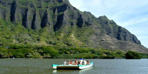 Kualoa Ranch Hawaiian Fishpond e Garden Tour 1