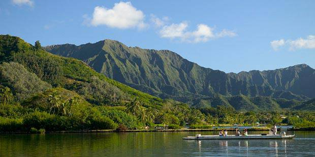 Kualoa Ranch Hawaiian Fishpond and Garden Tour 3