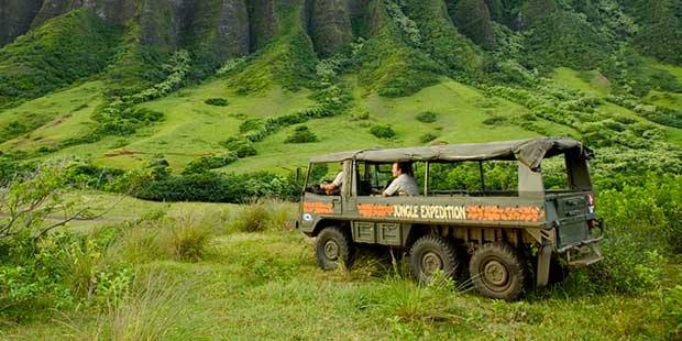 Kualoa Ranch Jungle Tour 1