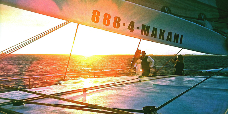 Sunset Dinner Sail Makani Catamaran 1