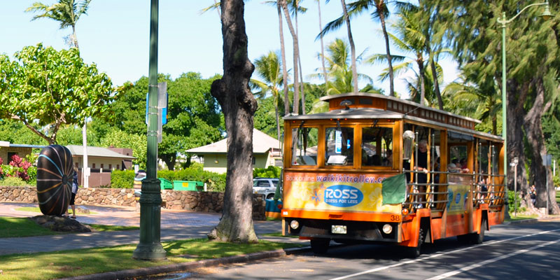 Waikiki Trolley Multi Pass 2