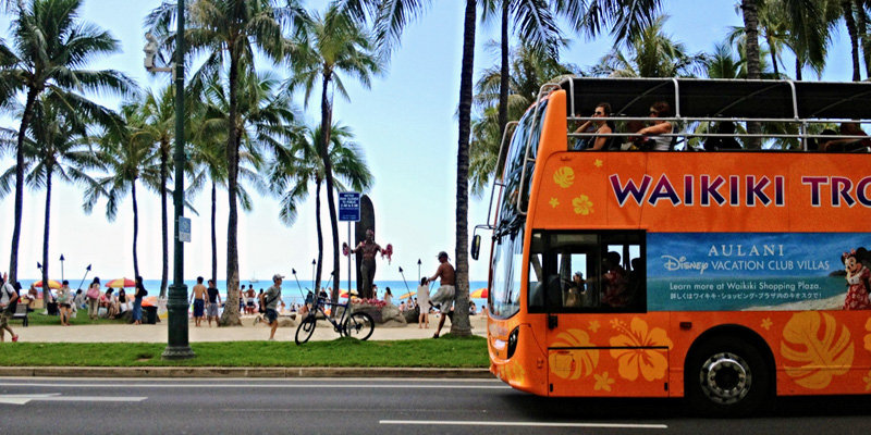 Waikiki Trolley Multi Pass 4