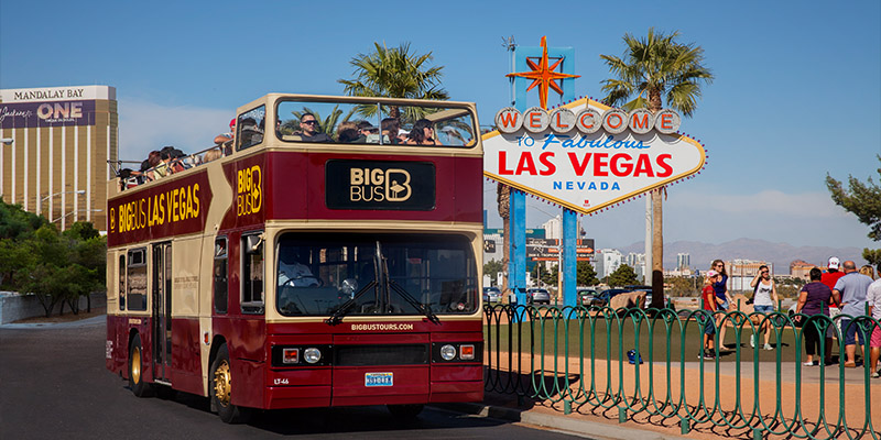 Double Decker Bus Tour Las Vegas Strip
