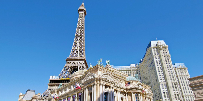 eiffel tower experience at paris las vegas daytime ticket gate prices