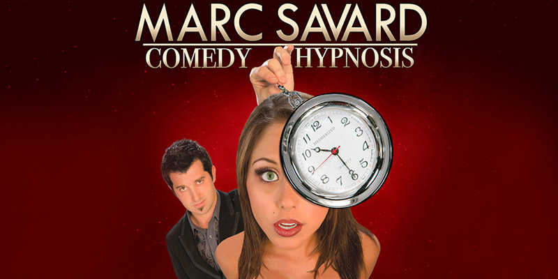 Marc Savard Comedy Hypnosis 1