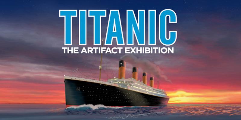 Titanic exhibit coupons philadelphia