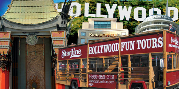 Starline Tours Hollywood Trolley Tour 1