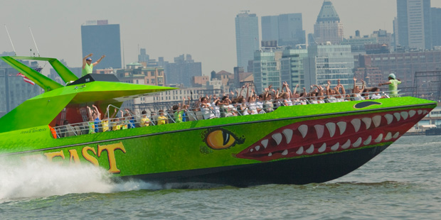 Circle Line Beast Speedboat Ride