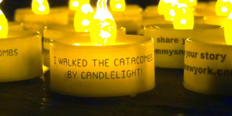 Catacombs by Candlelight Tour 1