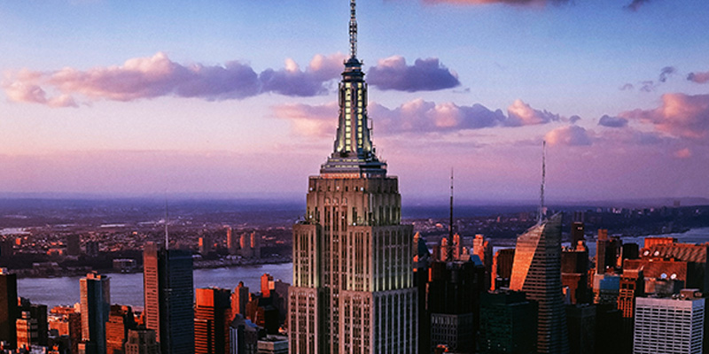 Empire state building tickets included on new york for Places to see in nyc at night