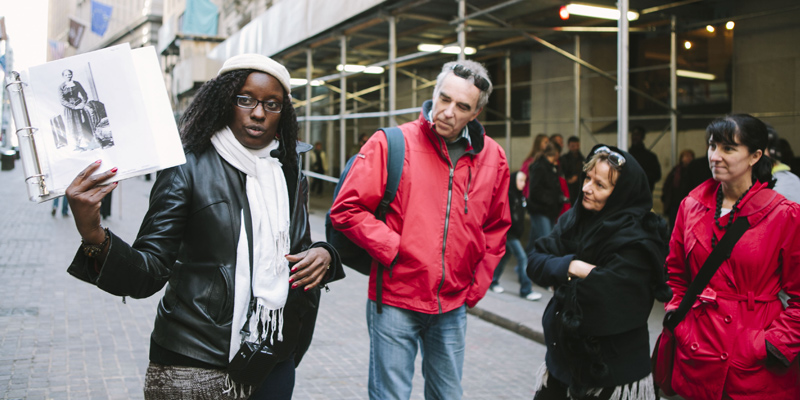 NYC Slavery and Underground Railroad Walking Tour 1