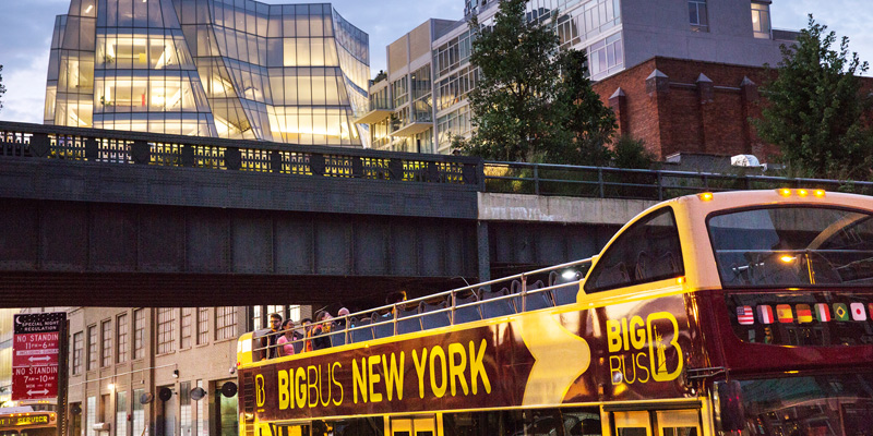 8 Hour New York Tour ITINERARY. New York 9 Hour Main Attractions Tour (w/ City Bus/Subway) with Empire State Building. The City Bus/Subway use option offers more time at each stop and city buses have their own lanes in the city, you will spend less time in traffic.