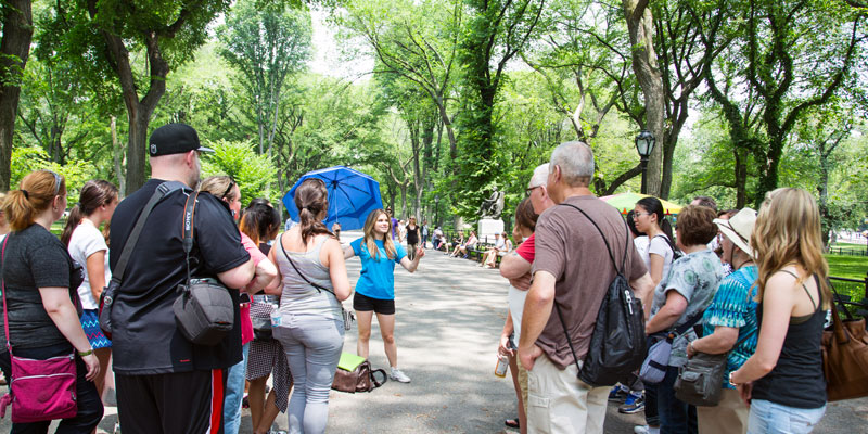 Filmtour durch den Central Park 1