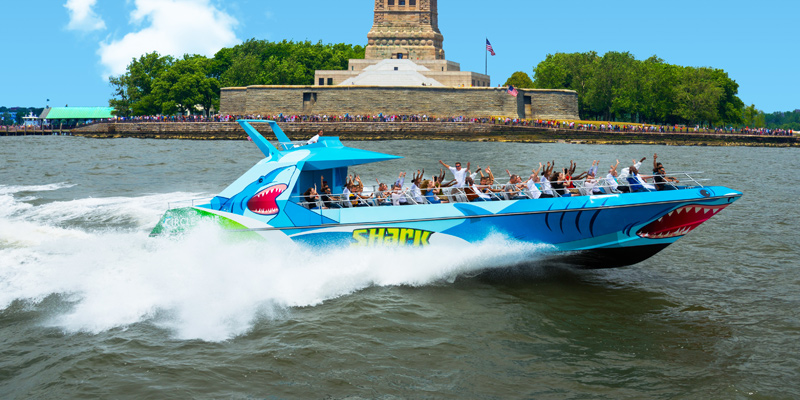 SHARK Speedboat Thrill Ride 1