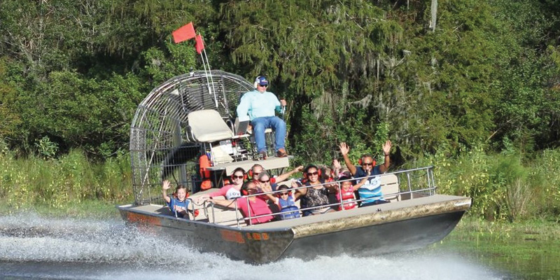 Boggy Creek Airboat Rides 4