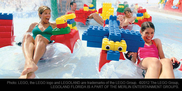 LEGOLAND General Admission Waterpark Combo 1