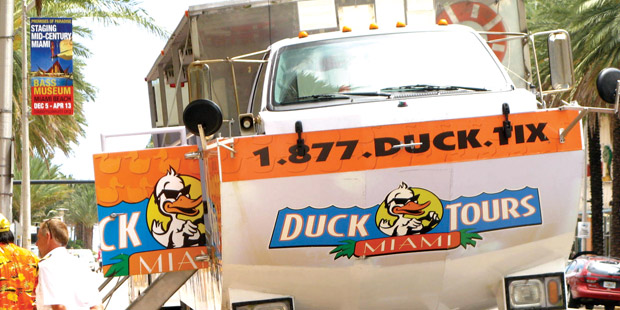 Miami Duck Tours 1
