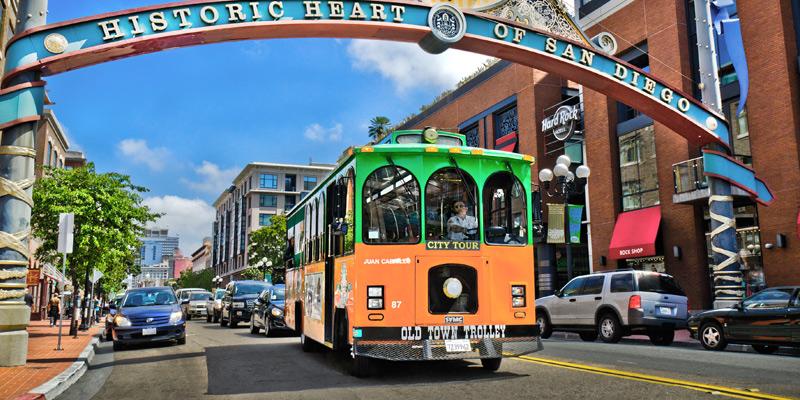 Visites De San Diego En Trolleybus Hop On Hop Off Old