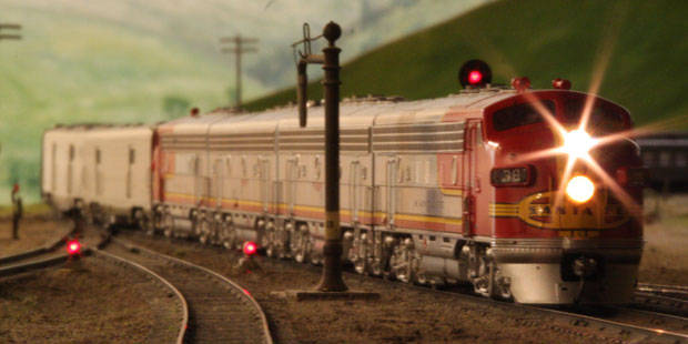 Model Railroad Museum de San Diego 1