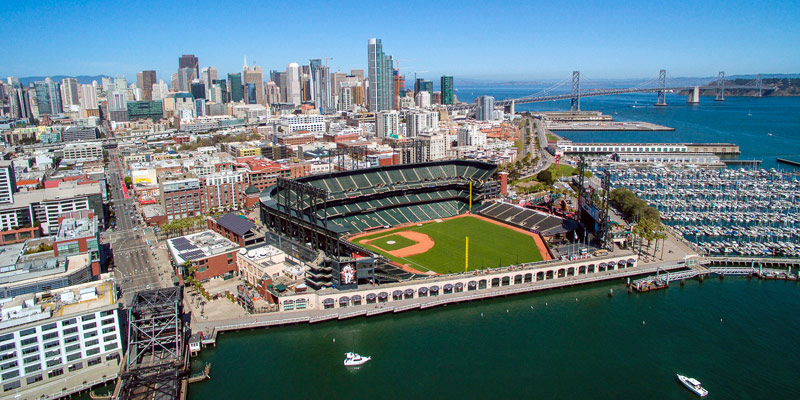 AT T Park, on sont installés les San Francisco Giants 1