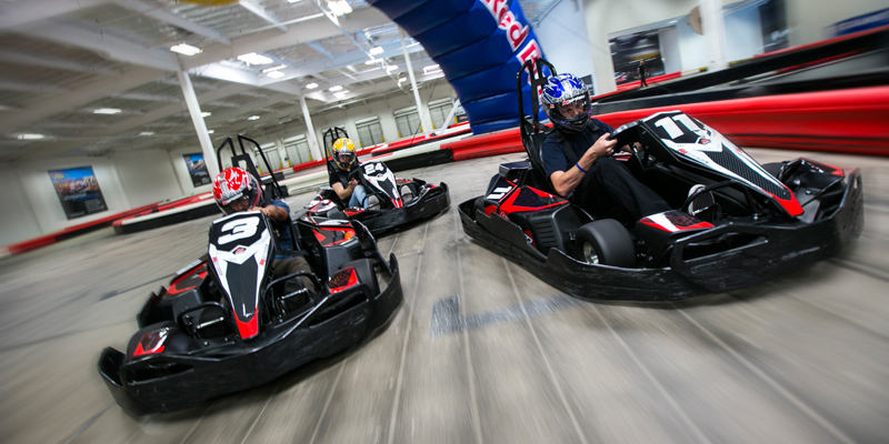 Carreras de karting en interiores de K1 Speed 1