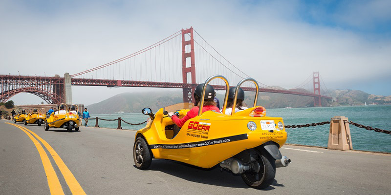 San Francisco GoCar Tours One Hour 1