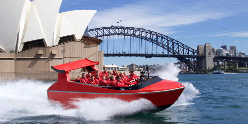 Sydney Jet Thrill Ride 1