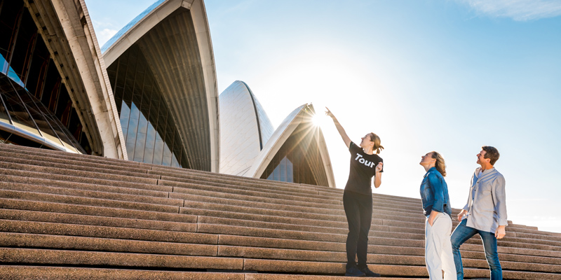 The Sydney Opera House Tour 1