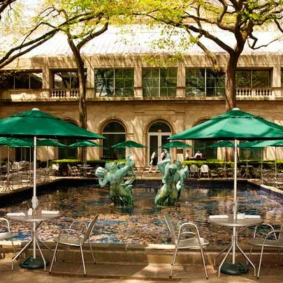 The Art Institute of Chicago Garden Cafe