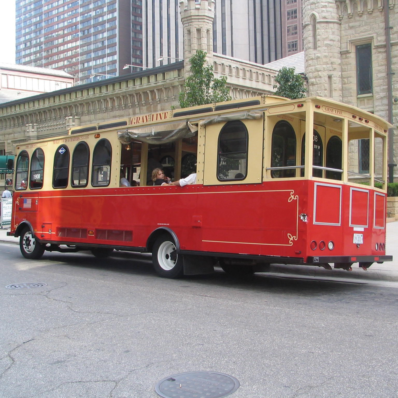 Hop-on/off Trolley: 2-day pass