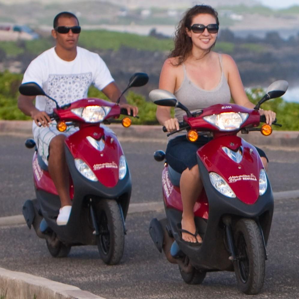 Hawaiian Style Rentals: Moped and Bike Rentals