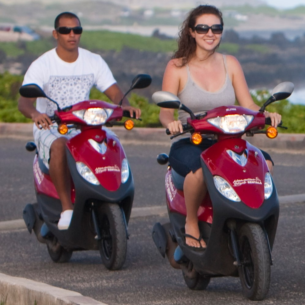 Hawaiian Style Rentals: Moped and Bike Rentals