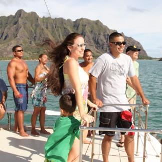 Voyaging Catamaran Tour at Kualoa Ranch