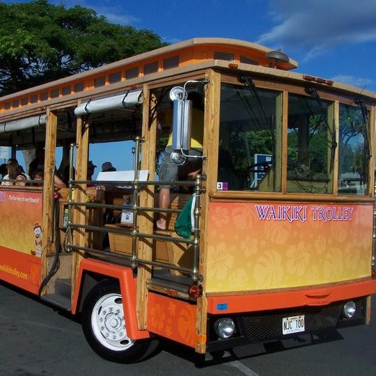 Waikiki Hop On/Hop Off Trolley