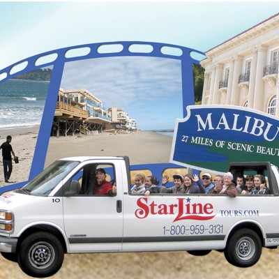 Malibu Celebrity Homes Tour by Starline
