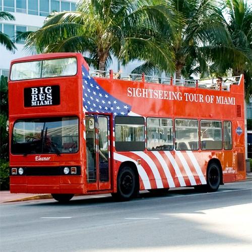 Big Bus Miami: 24 Hour Pass