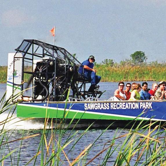 Sawgrass Recreation Park Everglades Airboat Adventures