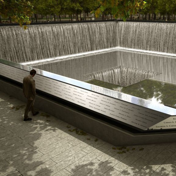 National 9/11 Memorial with Hop on Hop off Water Taxi