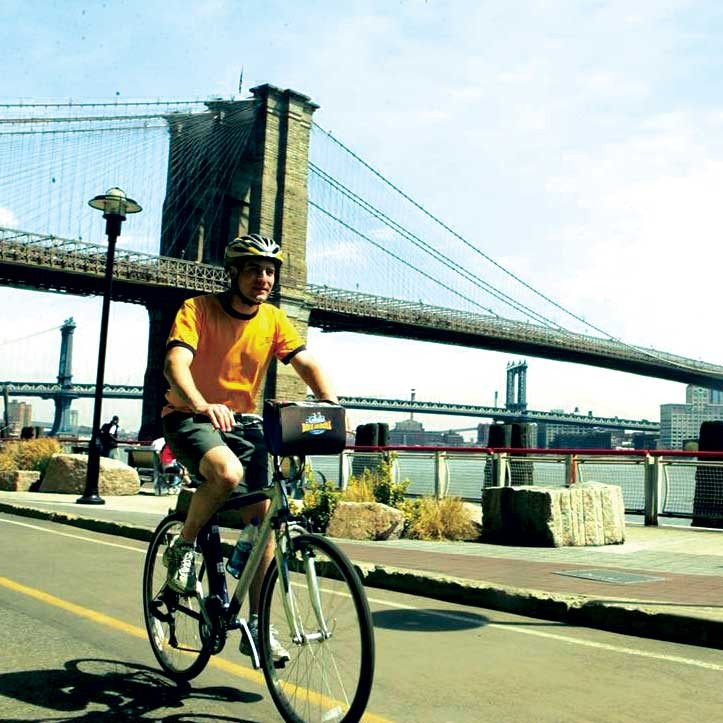 Bike and Roll: Brooklyn Bridge and the Hudson River Tour