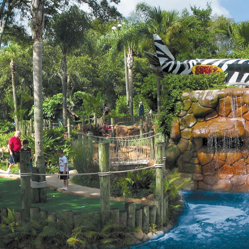 Congo River Adventure Golf: Clearwater