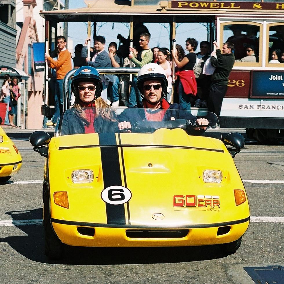 GoCar San Francisco Tour (30-minute rental)
