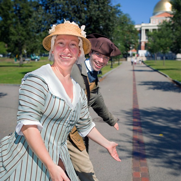 Freedom Trail® Walk Into History Tour