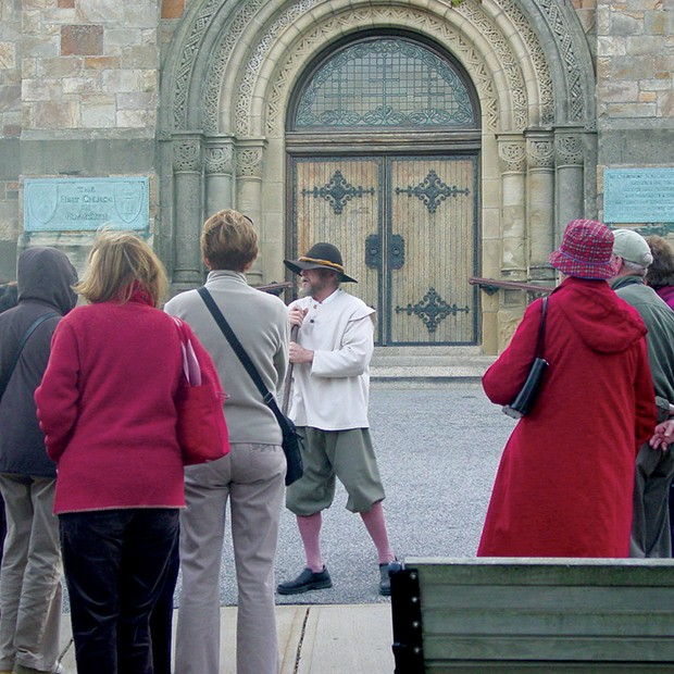 Plymouth Walking Tour