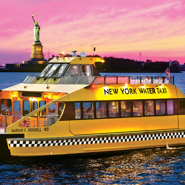 Statue by Night Cruise: New York Water Taxi