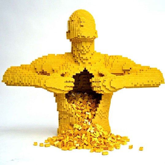 The Art of the Brick at Discovery Times Square