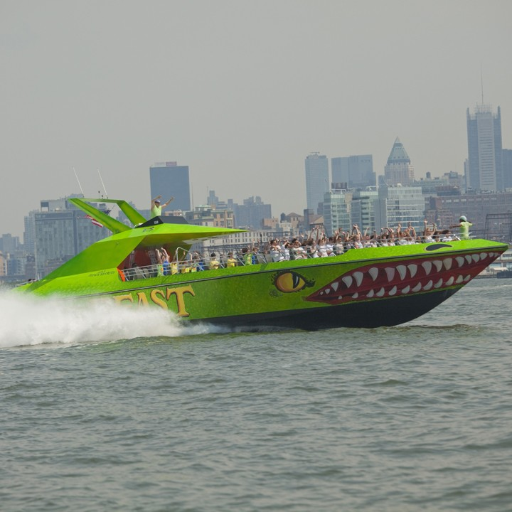 Beast Speedboat Cruise by Circle Line