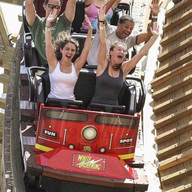 Fun Spot America 4 Ride Sampler