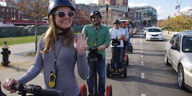 Boston Harbor 1-Hour Segway Adventure: Boston by Segway