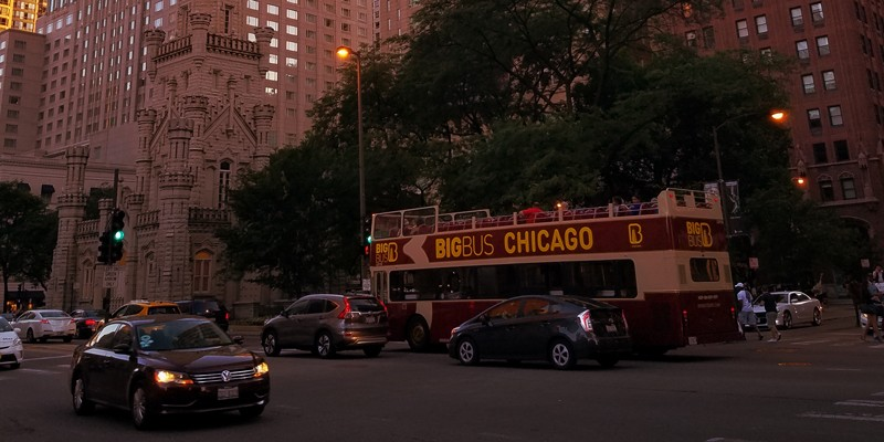 Big Bus Chicago: Panoramic Night Tour